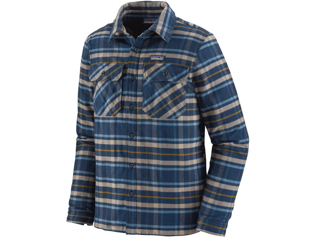 Patagonia Insulated Fjord Veste De Flanelle Homme, independence/new navy